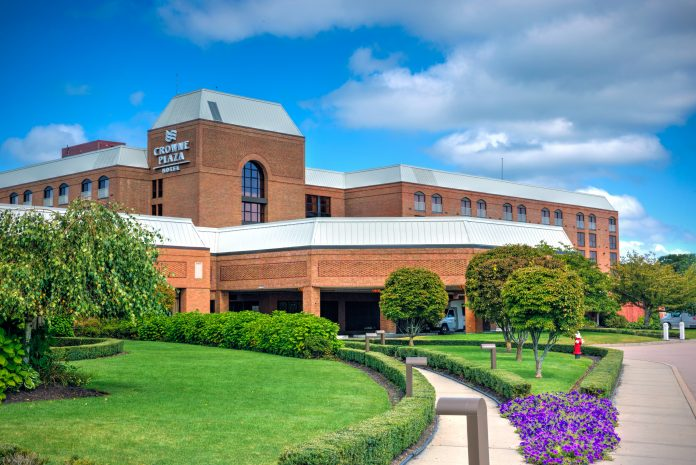 THE CARPIONATO GROUP announced a $22 million renovation of the Crown Plaza Hotel Providence-Warwick. / COURTESY CROWNE PLAZA HOTEL PROVIDENCE-WARWICK