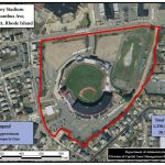 THE R.I. COMMERCE CORP. and Pawtucket have issued an RFP for the redevelopment of McCoy Stadium and other properties in the Pawtucket Downtown Redevelopment Area. The RFP expresses a strong interest for a professional sports team and/or concert entertainment operator for the project. / COURTESY R.I. COMMERCE CORP.