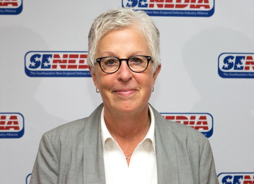 MOLLY DONOHUE MAGEE, executive director of the Southeastern New England Defense Industry Alliance. / COURTESY SOUTHEASTERN NEW ENGLAND DEFENSE INDUSTRY ALLIANCE