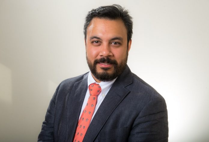 INDRA NEIL SARKAR has been named interim president and CEO of the Rhode Island Quality Insittute following the departure of Laura Adams. / COURTESY RHODE ISLAND QUALITY INSTITUTE