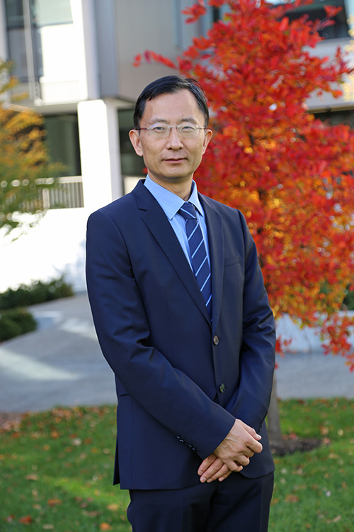 BROWN UNIVERSITY engineer professor Haujian Gao has been named one of 200 new members of the American Academy of Arts and Sciences./ COURTESY BROWN UNIVERSITY