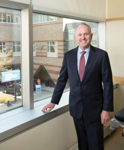 "ATTRACTING TALENT: Dr. Timothy J. Babineau, who has served as president and CEO of Lifespan for the past seven years, said he's most proud of the company's ability to attract talent, which he described as ""world-class,"" adding that Lifespan has added 3,000 jobs over his tenure.