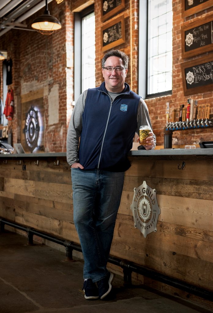Before co-founding Isle Brewers Guild, Duffy was a partner and business-development officer for marketing and communications agency Duffy & Shanley Inc., working during that time with Narragansett Beer, Strela Beer and BrewGene. / PBN PHOTO/DAVE HANSEN