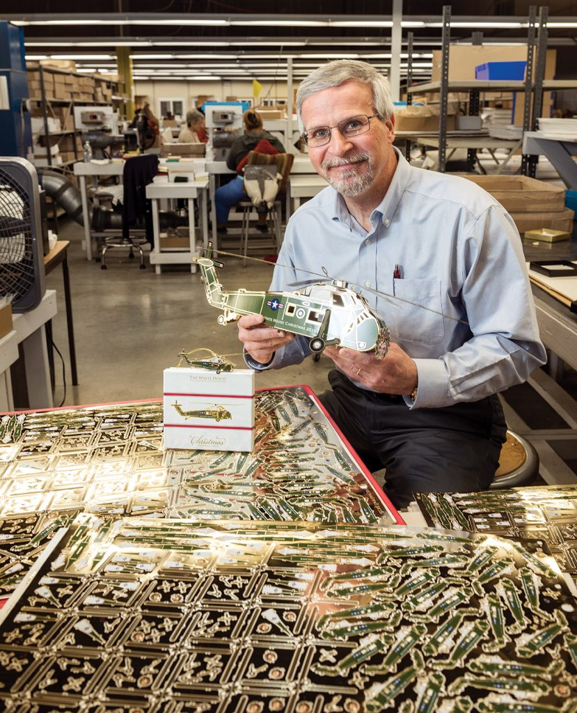 In 1994, David R. Marquis, a Bryant University graduate with an MBA in business, started at ChemArt Co. as the operations manager. Since then, he worked his way up to becoming president of the organization in 1999.  / PBN PHOTO/DAVE HANSEN