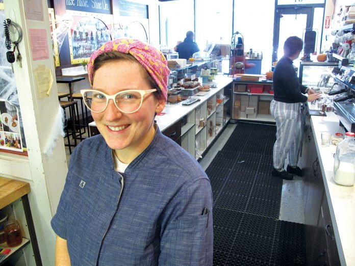 WINNING CONFECTIONS: Melissa Denmark, executive pastry chef at Gracie's restaurant in Providence, was recognized as one of the 50 best new pastry chefs in the nation in 2012 by Food & Wine magazine. / PBN FILE PHOTO/ MARK S. MURPHY