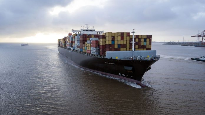 THE OVERALL U.S. merchandise-trade deficit widened 0.7% to $72.4 billion in March. / BLOOMBERG NEWS FILE PHOTO/QILAI SHEN