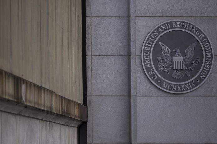 THE SEC is seeking public comment on a proposal that would exempt companies with less than $100 million in annual revenue from the so-called auditor attestation requirement. / BLOOMBERG NEWS FILE PHOTO/ZACH GIBSON
