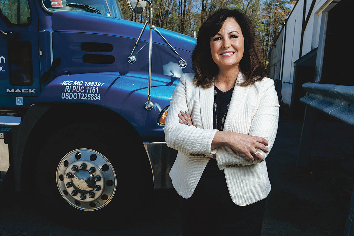 JF Moran president has enduring love of logistics - Providence Business News