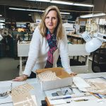 NAME DROPPER: Beatrice Thouveny, marketing director at NFI Corp., revamped the company's brand when she took the position three years ago.  / PBN PHOTO/RUPERT WHITELEY