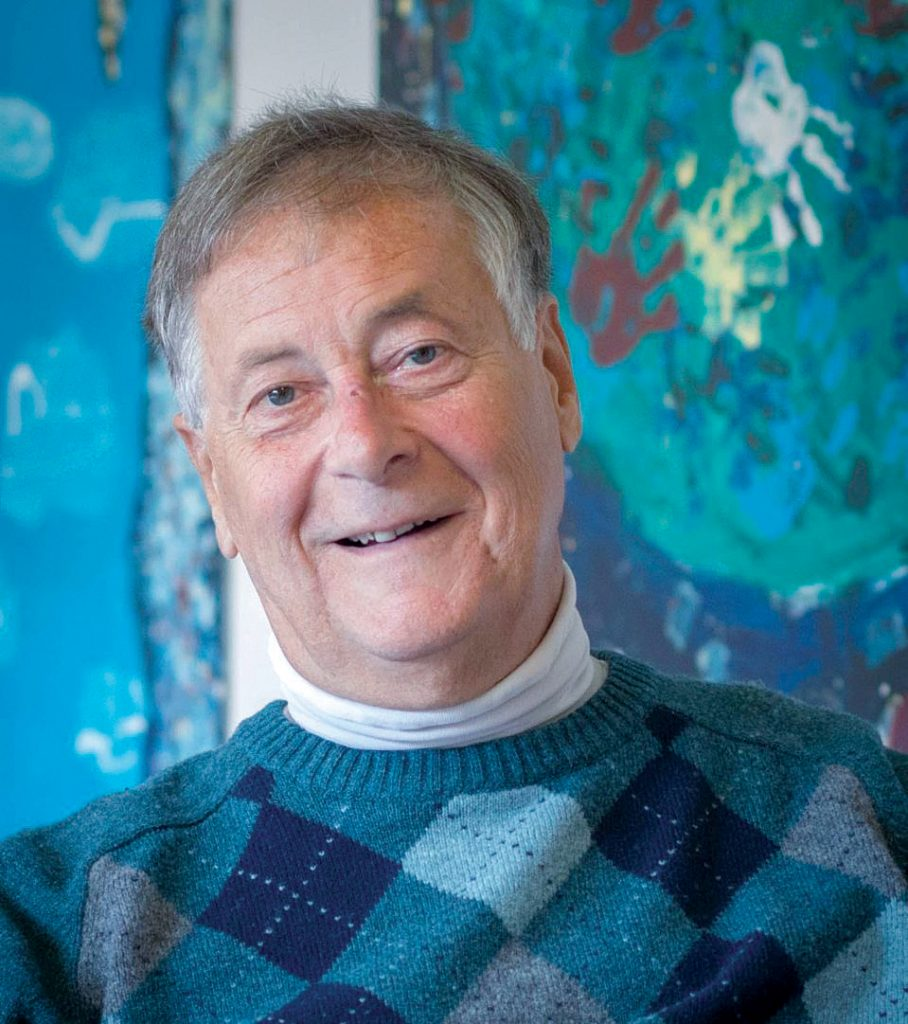 ROBERT DEBLOIS is retiring next month as director of the Urban Collaborative Accelerated Program 30 years after he founded the Providence school. / COURTESY UCAP