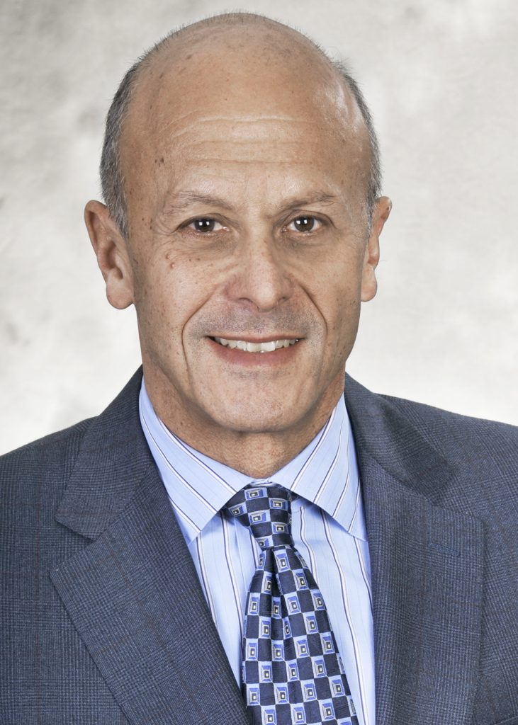 DR. STEVEN LAMPERT is president of Lifespan Physician Group. /COURTESY LIFESPAN