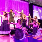 "DANCERS PERFORM a number from the musical ""Grease"" during The Miriam Hospital annual gala and auction on May 11 at the Wheeler School in Providence. / COURTESY THE MIRIAM HOSPITAL"