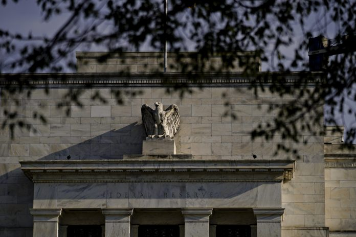 """FEDERAL RESERVE officials judged at their latest meeting that their patient approach to interest-rate changes would be appropriate """"for some time."""" /BLOOMBERG NEWS FILE PHOTO/ANDREW HARRER"""