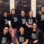FASHIONABLE: The staff at Big Brothers Big Sisters of R.I. model T-shirts featuring the agency's new logo, highlighting a national branding effort. 