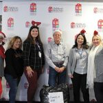 MISSION-DRIVEN: Children's Friend staff takes part in initiatives such as a holiday drive that provides clothing and toys to vulnerable families.