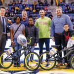 PEDAL POWER: Barnum associates participate in Barnum Foundation for Life's Bike for Kids events at Quinnipiac University in Hamden, Conn.