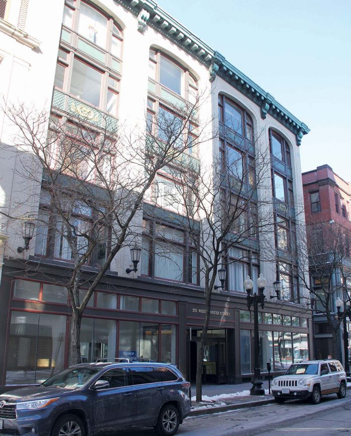 THE CHERRY & Webb building, at 275 Westminster St., has been sold. / PBN FILE PHOTO/KATE TALERICO