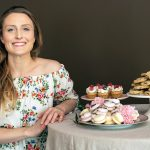 PLANT-BASED DESSERTS: Becky Morris is the owner of Celebrated, a bakery that specializes in plant-based desserts and is known for its macarons and other bridal/elegant table displays. All desserts are animal-free. / PBN PHOTO/MICHAEL SALERNO