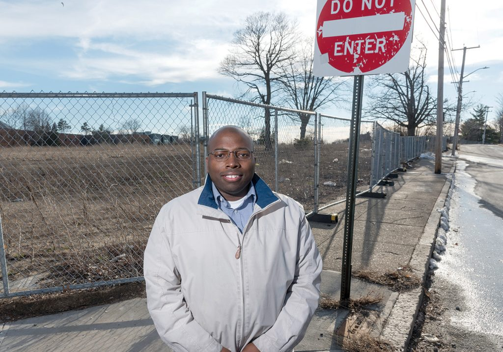 OVERLOOKED: Dwayne Keys, chairman of the South Providence Neighborhood Association, said his neighborhood is not receiving the attention it deserves from the city and its EveryHome program for restoring blighted and abandoned properties. / PBN FILE PHOTO/MICHAEL SALERNO