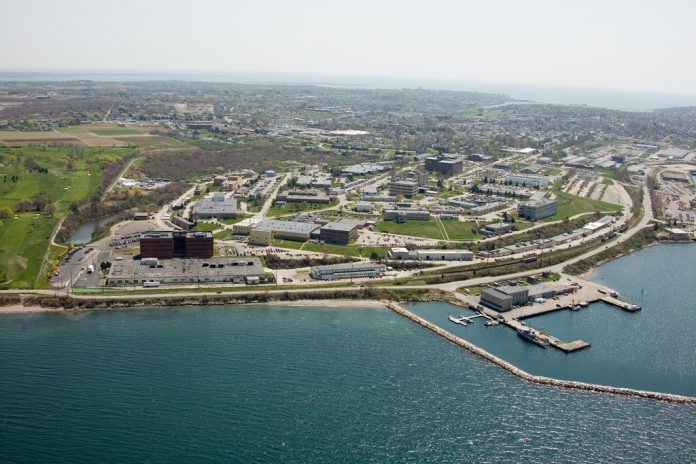THE NAVAL UNDERSEA Warfare Center Divison Newport spent $1.1 billion in 2018, including $352.2 million on payroll and $287.8 million on contracts to Rhode Island-based businesses. / COURTESY NAVAL UNDERSEA WARFARE CENTER DIVISION NEWPORT