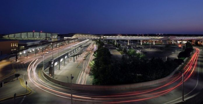 THE R.I. DEPARTMENT of Transportation was awarded $2.8 million in a federal grant overseen by the U.S. Department of Transportation to conduct a review of the requirements necessary to bring Amtrak service to the T.F. Green Airport train station. / COURTESY R.I. AIRPORT CORP.