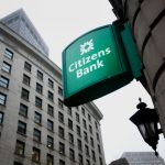 CITIZENS BANK of Providence moved up to score the highest financial rating from BauerFinancial Inc., as did Bank of America and Webster Bank. / BLOOMBERG NEWS FILE PHOTO/KELVIN MA