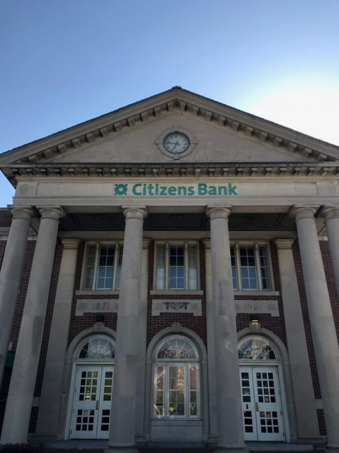 CITIZENS BANK ranked well on a 2019 reputation survey conducted by American Banker and the Reputation Institute. / PBN FILE PHOTO/ELI SHERMAN