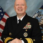 REAR ADMIRAL Jeffrey Harley was administratively reassigned the role of Director of Navy Staff pending the final report of an ongoing Inspector General investigation. / COURTESY U.S. NAVY