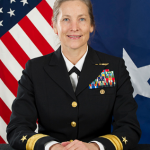 REAR ADMIRAL Shoshana S. Chatfield has been named president of the U.S. Naval War College. / COURTESY U.S. NAVY