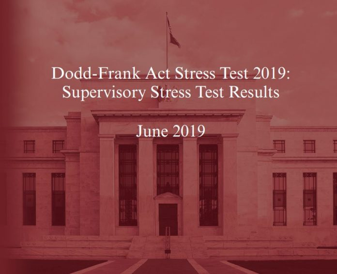 ALL 18 BANKS REQUIRED TO PARTICIPATE in the first round stress test exam demonstrated an ability to withstand a hypothetical financial shock. / COURTESY FEDERAL RESERVE