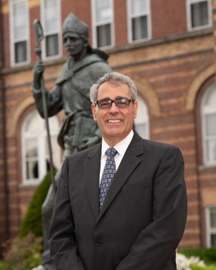 STONEHILL COLLEGE administrator Joseph A. Favazza will take over as president of Saint Anselm College in Manchester, N.H., on July 15. / COURTESY SAINT ANSELM COLLEGE