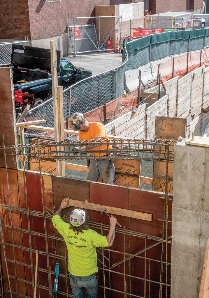 PROVIDENCE METRO construction employment increased 0.8% year over year in May. / PBN FILE PHOTO/MICHAEL SALERNO