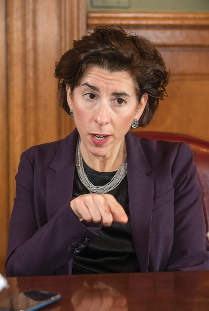 STILL A NO-GO: Despite Gov. Gina M. Raimondo's exhortation to make a deal that would create a full-service, local health care system, the players – Lifespan, Care New England and Brown University – have been unable to reach an agreement. / PBN FILE PHOTO/DAVE HANSEN