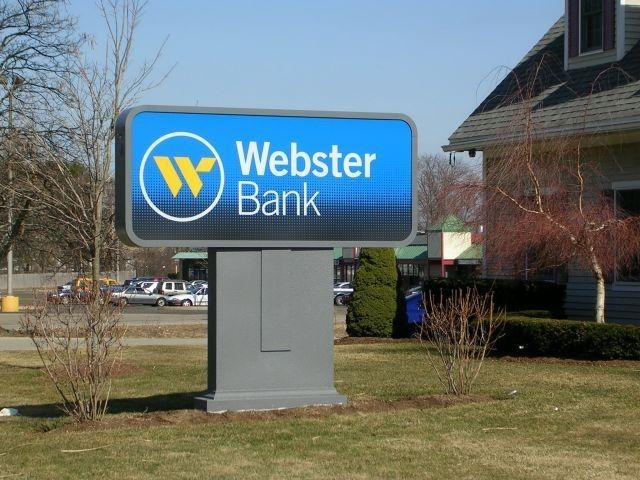 WEBSTER FINANCIAL CORP., the holding company for Waterbury, Conn.-based Webster Bank, reported net income of $96.2 million, or $1.05 per diluted share, in the quarter ended June 30. / PBN FILE PHOTO