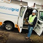 GOV. GINA M. RAIMONDO wants state lawmakers to grant authority for regulators to fine National Grid Rhode Island and other utilities for poor performance. / COURTESY NATIONAL GRID