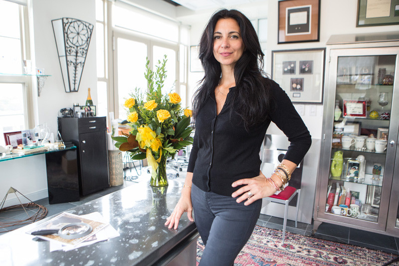 ALEX AND ANI's lawsuit against Bank of America says that a declared default on a loan is driving the company towards bankruptcy. Above, company Founder Carolyn Rafaelian. / PBN FILE PHOTO/RUPERT WHITELEY