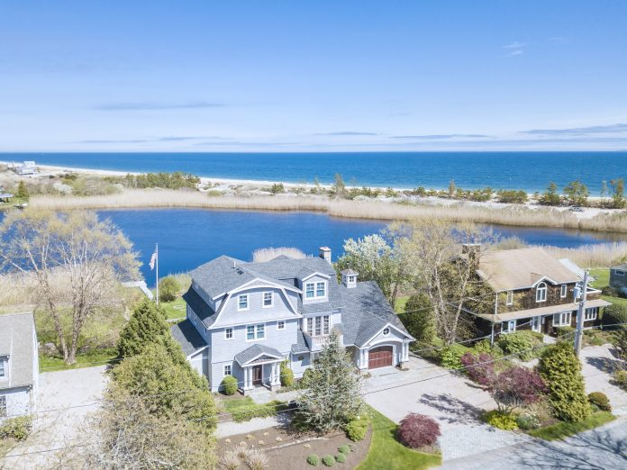 THE PROPERTY at 28 Highland Road in Charlestown sold for $2.3 million. / COURTESY MOTT & CHACE SOTHEBY'S INTERNATIONAL REALTY