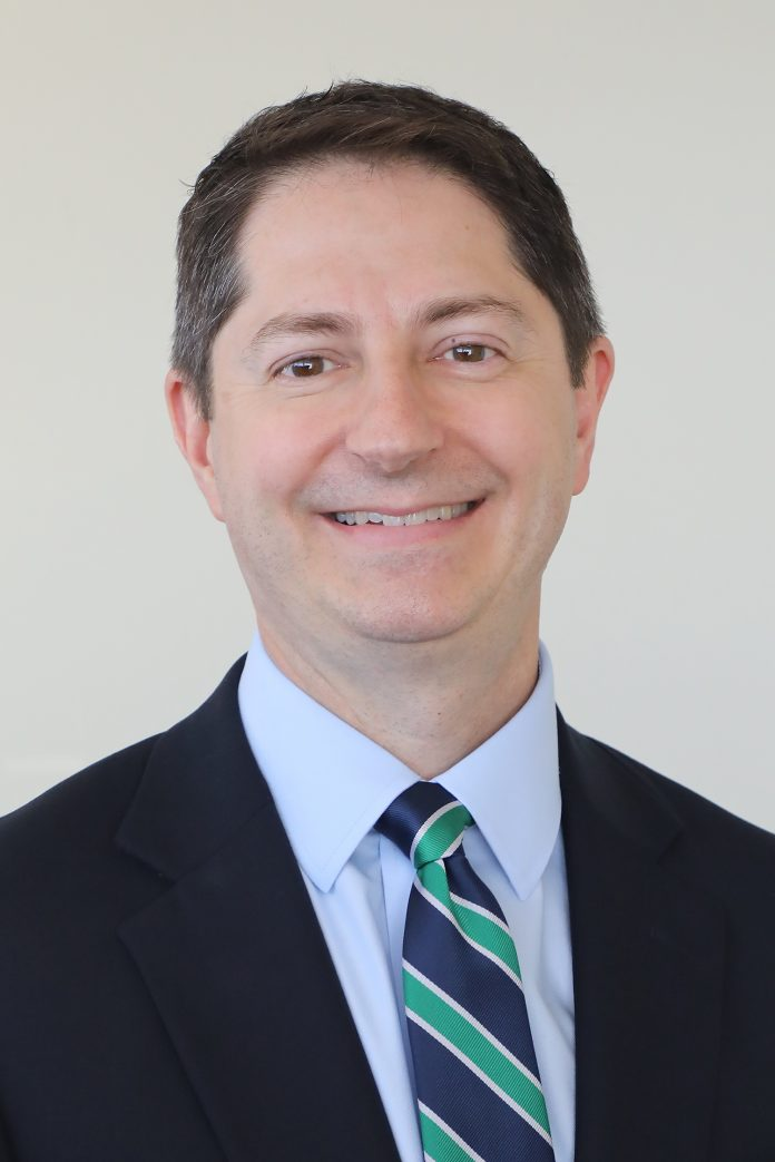 BRYAN BROPHY-BAERMANN started this week as the Community College of Rhode Island's new dean of arts, humanities and social sciences. / COURTESY COMMUNITY COLLEGE OF RHODE ISLAND