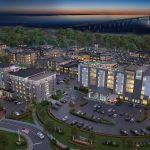 CARPIONATO GROUP has proposed a $100 million, mixed-use redevelopment of the Newport Grand site that would replace the former casino with hotels, apartments, office and retail space. / COURTESY CARPIONATO GROUP