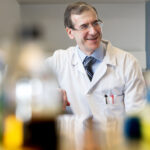 """A DRUG that may make a strain of """"superbug"""" more vulnerable to treatment by antibiotics has been identified by an international research effort led by a team at Rhode Island Hospital. Above, Dr. Eleftherios Mylonakis, chief of infectious diseases at Rhode Island Hospital and The Miriam Hospital. / COURTESY LIFESPAN"""
