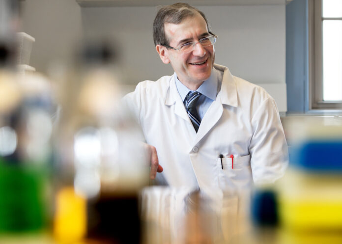 "A DRUG that may make a strain of ""superbug"" more vulnerable to treatment by antibiotics has been identified by an international research effort led by a team at Rhode Island Hospital. Above, Dr. Eleftherios Mylonakis, chief of infectious diseases at Rhode Island Hospital and The Miriam Hospital. / COURTESY LIFESPAN"