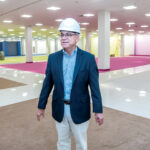 MOVING IN: Boscov's Chairman and CEO Jim Boscov stands in what will be the new store in Providence Place mall, where it will replace the departed Nordstrom. 