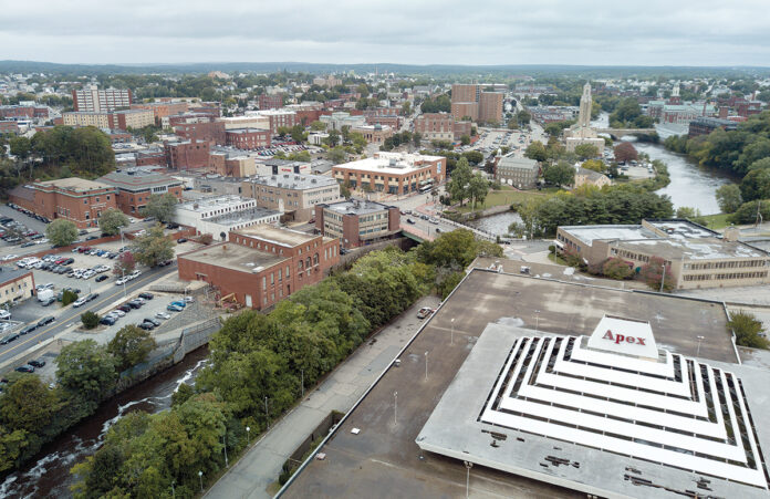 NEW LAW: Rhode Island Center for Freedom and Prosperity CEO Mike Stenhouse believes a new law – requiring a 100% reimbursement rate for property taken by eminent domain within three opportunity zones in Pawtucket – is directed at the redevelopment of the former Apex department store.