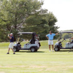 CHAMBER INVITATIONAL: Golfers enjoy the course during last year's SouthCoast Chamber of Commerce's Chamber Invitational Golf Tournament. This year's tournament will be held Sept. 3 at Allendale Country Club in ­Dartmouth.