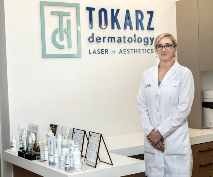 SPECIALIZED FOCUS: Dr. Valerie Tokarz, a board-certified dermatologist, opened her own practice, Tokarz Dermatology in East Greenwich, in May because she wanted to focus more on specialty laser work.
