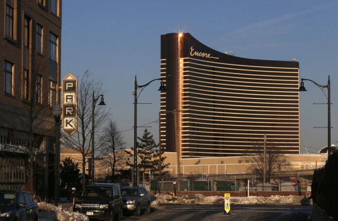 ENCORE BOSTON HARBOR generated $48.6 million in gambling revenue in its first full month. / BLOOMBERG NEWS FILE PHOTO/GETTY IMAGES/JESSICA RINALDI