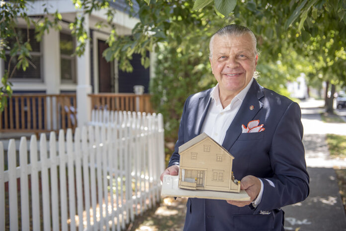 BY DESIGN: Architect Kenneth J. Filarski enjoys working on projects for the betterment of his profession and of Rhode Island.  / PBN PHOTO/DAVE HANSEN