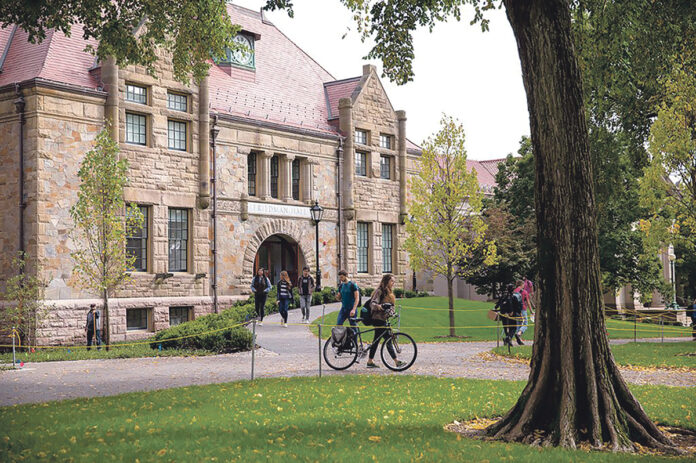 BROWN UNIVERSITY says it finished the fiscal year 2019 with $420.6 million in donations and gifts, a record for the Ivy League school. / COURTESY BROWN UNIVERSITY