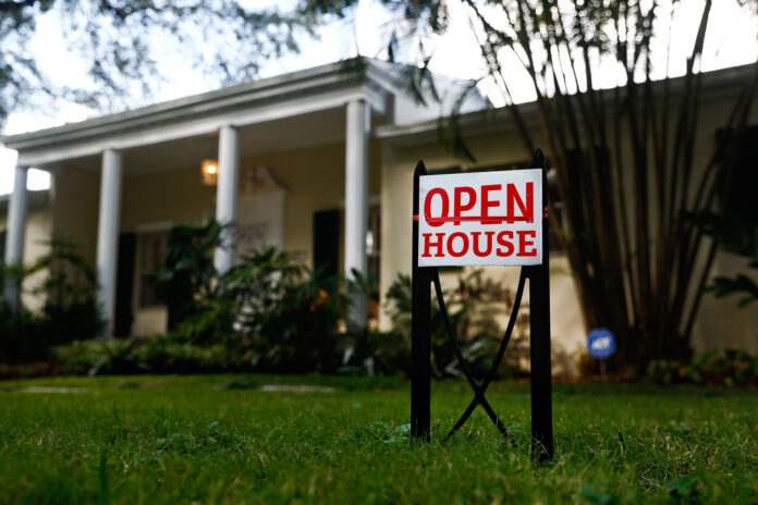 THE MEDIAN PRICE of a single-family home sold in July was $297,500, a 6.5% increase year over year. / BLOOMBERG NEWS FILE PHOTO/SCOTT MCINTYRE