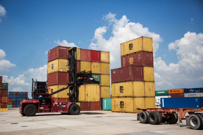 U.S. GDP for the second quarter was revised down to 2%. / BLOOMBERG NEWS FILE PHOTO/ALEX FLYNN